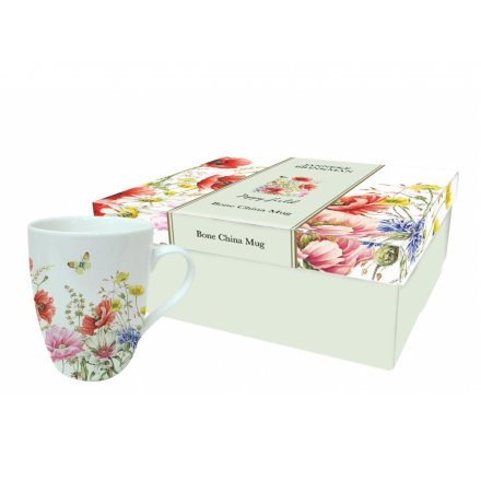 Poppy Garden Mugs Set Of 4 36036 Interior Decor Kitchen Rosefields