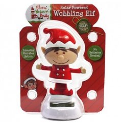 A happy solar wobbling elf