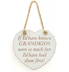 If i'd have know grandkids were so much fun id of had them first!