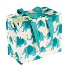 A fun and eco-friendly lunch bag made from plastic recycled bottles. The design is on trend and fabulous!