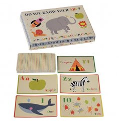 A fun filled way for your little one to learn their numbers and alphabet