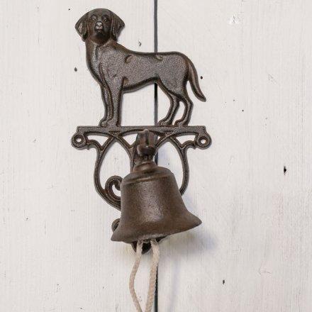 Cast Iron Dog Doorbell 36105 Homeware Decorative Accessories