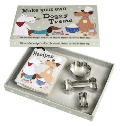 Treat your four legged friends with tasty treats in the shapes of bones and paws
