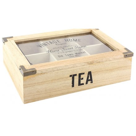 Vintage Home Tea Box