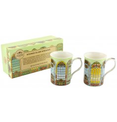 This beautiful and original themed set of mugs will bring to your home a sweet dash of colour
