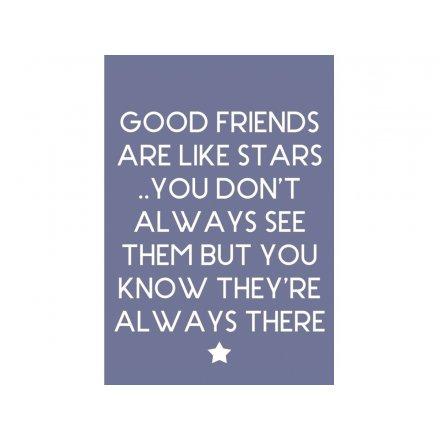 Good Friends Stars Magnet