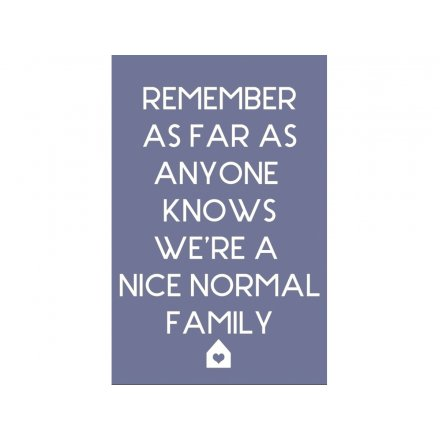 Nice Normal Family Magnet