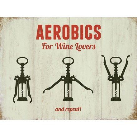 Aerobics For Wine Lovers Magnet