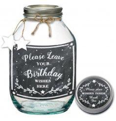A Birthday Wishes Jar