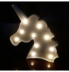 Bring a warm glowing magical touch to any princess bedroom with this fun unicorn Light