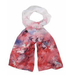 This beautiful assortment of watercolour inspired butterfly designed scarves will add a perfect touch to any outfit