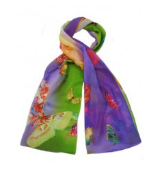 Bright Coloured Butterfly Scarves   A beautiful array of colours form these stylish butterfly inspired scarves