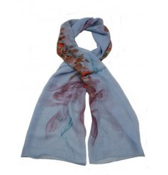a beautiful assortment of floral inspired scarves