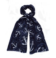 A stylish assortment of beach themed decorative scarves,