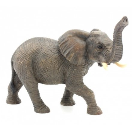 Standing Elephant Figure