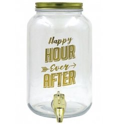 this large drinks dispenser will bring to party to any event!