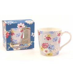 This sweet and colourful blossom designed mug will be sure to add a fun dash of colour to any kitchen in summer
