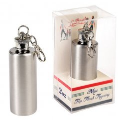 Le Bicycle Hip Flask Keyring