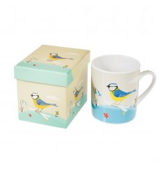 Blue Tit Mug in a Box
