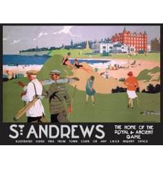 Add some vintage Scottish charm to your display or home with this hanging metal sign