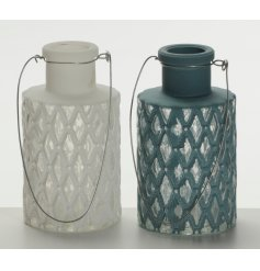 Add a distressed feel to any space with these assorted decorative vases