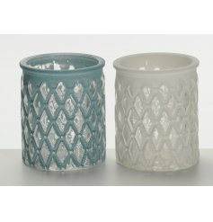 Add a distressed feel to any space with these assorted decorative pots