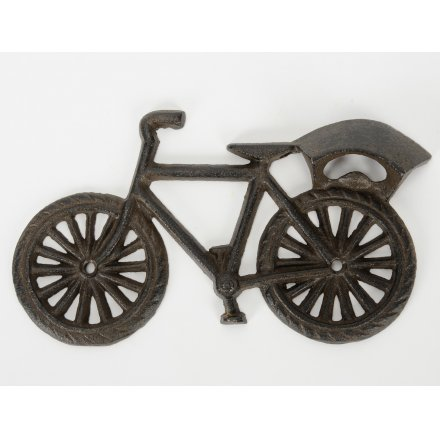 Iron Bottle Opener Bicycle