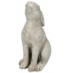Add a distressed touch to your home or garden with this cute gazing hare