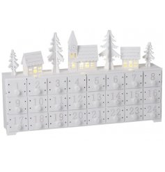 Count down the days till christmas with this beautiful advent calendar