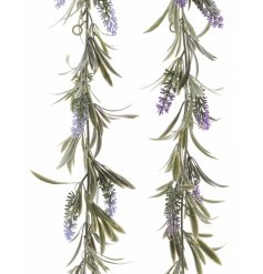 an assortment of lavender hanging garlands