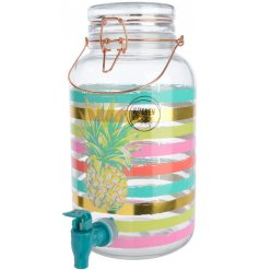 Add a funky pattern to your summer events with this quirky and colourful drink dispenser