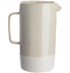A modern Luxe feel to your home with this simple and chic ceramic jug