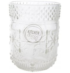 Bring a chic touch to your kitchenware with these stylish pattern glass cups
