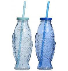 Bring these quirky fish themed drinking bottles to any summer party for a fun look