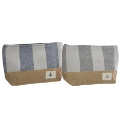 These coastal charm themed makeup bags will be perfect for any summer holiday get away