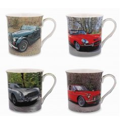 A trending new line of vehicle inspired mug sets