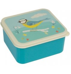 A blue tit lunch box