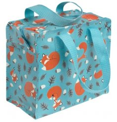 This adorably sweet fox themed bag is made from recycled bottles.