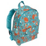 A charming children's backpack in a cheeky woodland fox design. Perfect for school and days out!