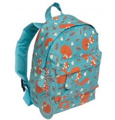 This mini Rusty the Fox themed back pack will bring a cute woodland feel to school,
