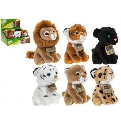 Add a cute plush feel to your shop windows with these adorable jungle friends inspired beanies