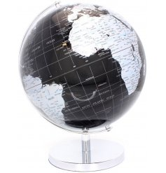 A stylish and modern era inspired globe