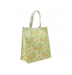 with its large size and sturdy handle, this shopping bag will be perfect for any shopping trip out