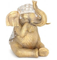 Add an exotic touch to your living spaces with this beautiful new line of Golden Exotic Figures