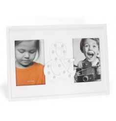Bring a glam touch to any empty space of your home with this chic light up photoframe