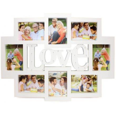LP41236 / LED Love Collage Photo Frame XL 74cm | 37086 | Photo ...