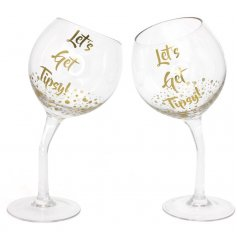 Dont worry, your not slightly drunk and browsing bending wine glasses, its just a new craze thats happened!