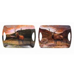 A beautifully pictured assortment of woodland themed serving trays