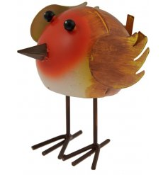 Bring a fun vet vintage touch to your garden space with this fun bouncing Robin
