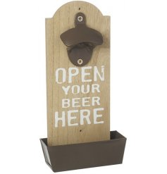 An Open Beer Here Bottle Opener
